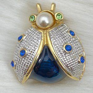 Vintage Roman's Ladybug Brooch